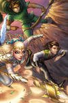 Cover Thumbnail for Knightingail: Shadow Divisions (2013 series) #6 [Cover E]