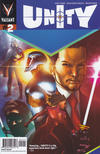 Cover for Unity (Valiant Entertainment, 2013 series) #2 [Cover B - Travel Foreman]