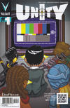 Cover for Unity (Valiant Entertainment, 2013 series) #1 [Cover G - Pullbox Exclusive - 8-Bit Variant]