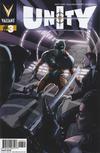 Cover for Unity (Valiant Entertainment, 2013 series) #3 [Cover B - J. G. Jones Cover]