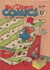 Cover for Walt Disney's Comics (W. G. Publications; Wogan Publications, 1946 series) #24