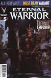 Cover for Eternal Warrior (Valiant Entertainment, 2013 series) #5 [Cover A - Clayton Crain]