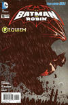 Cover for Batman and Robin (DC, 2011 series) #18 [2nd Printing]