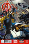 Cover Thumbnail for Avengers (2013 series) #25 [Dustin Weaver Variant]