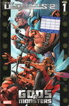Cover for Ultimates 2 (Marvel, 2005 series) #1 - Gods & Monsters [unknown]