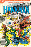 Cover for The Shadow War of Hawkman (DC, 1985 series) #4 [Newsstand]