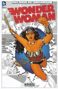 Cover Thumbnail for Wonder Woman (Panini Deutschland, 2012 series) #3 - Krieg
