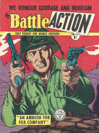 Cover Thumbnail for Battle Action (Horwitz, 1954 ? series) #32