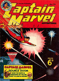 Cover Thumbnail for Captain Marvel Adventures (L. Miller & Son, 1950 series) #79