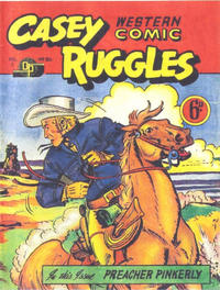 Cover Thumbnail for Casey Ruggles Western Comic (Donald F. Peters, 1951 series) #30