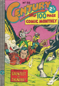Cover Thumbnail for Century, The 100 Page Comic Monthly (K. G. Murray, 1956 series) #38