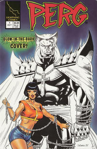 Cover Thumbnail for Perg (Lightning Comics [1990s], 1993 series) #1 [Glow-in-the-Dark Cover]