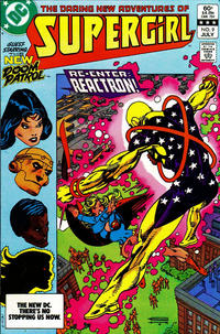 Cover Thumbnail for The Daring New Adventures of Supergirl (DC, 1982 series) #9 [Direct-Sales]