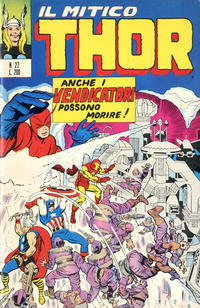 Cover Thumbnail for Il Mitico Thor (Editoriale Corno, 1971 series) #22