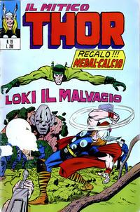 Cover Thumbnail for Il Mitico Thor (Editoriale Corno, 1971 series) #19