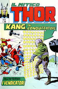 Cover Thumbnail for Il Mitico Thor (Editoriale Corno, 1971 series) #16