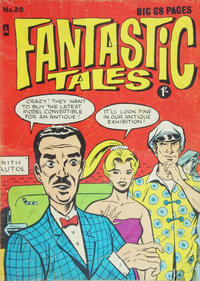 Cover for Fantastic Tales (Thorpe & Porter, 1963 series) #20