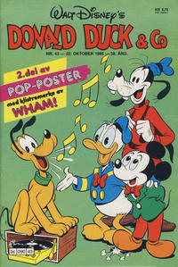 Cover Thumbnail for Donald Duck & Co (Hjemmet / Egmont, 1948 series) #43/1985