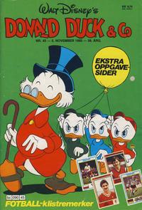 Cover Thumbnail for Donald Duck & Co (Hjemmet / Egmont, 1948 series) #45/1985