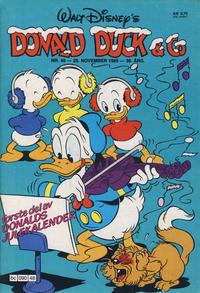 Cover Thumbnail for Donald Duck & Co (Hjemmet / Egmont, 1948 series) #48/1985
