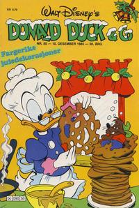 Cover Thumbnail for Donald Duck & Co (Hjemmet / Egmont, 1948 series) #50/1985