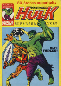 Cover Thumbnail for Hulk Pocket [Hulk Superseriepocket] (Atlantic Forlag, 1979 series) #2