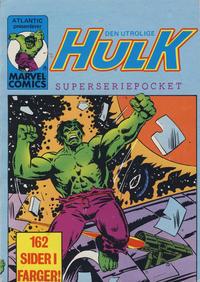 Cover Thumbnail for Hulk Pocket [Hulk Superseriepocket] (Atlantic Forlag, 1979 series) #6