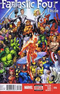 Cover Thumbnail for Fantastic Four (Marvel, 2013 series) #16