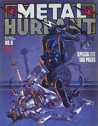 Cover Thumbnail for Métal Hurlant (Les Humanoïdes Associés, 1975 series) #8