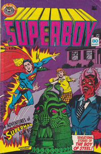 Cover Thumbnail for Superboy (K. G. Murray, 1980 series) #122