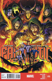 Cover Thumbnail for Fantastic Four (Marvel, 2013 series) #15