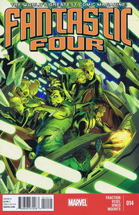 Cover Thumbnail for Fantastic Four (Marvel, 2013 series) #14