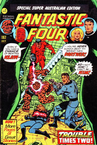 Cover Thumbnail for Fantastic Four (Yaffa / Page, 1979 ? series) #187
