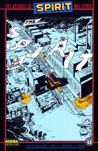 Cover Thumbnail for Los Archivos de The Spirit (NORMA Editorial, 2003 series) #12