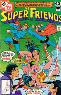 Cover Thumbnail for Super Friends (DC, 1976 series) #21 [Whitman Variant]