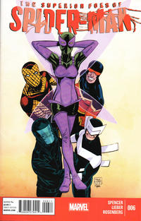 Cover Thumbnail for The Superior Foes of Spider-Man (Marvel, 2013 series) #6