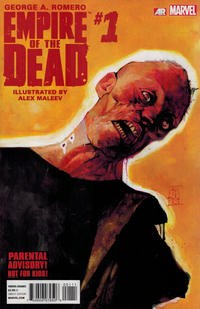 Cover for George Romero's Empire of the Dead (Marvel, 2014 series) #1 [Frank Cho Wraparound Variant]