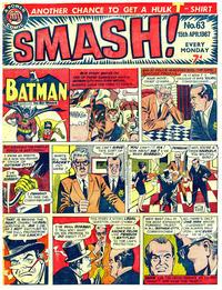 Cover Thumbnail for Smash! (IPC, 1966 series) #63