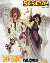 Cover Thumbnail for Scream (Yaffa / Page, 1976 ? series) #1