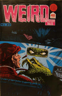 Cover Thumbnail for Weird Mystery Tales (K. G. Murray, 1972 series) #20
