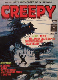 Cover for Creepy (K. G. Murray, 1974 series) #5