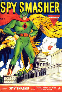 Cover Thumbnail for Spy Smasher (L. Miller & Son, 1953 series) #51