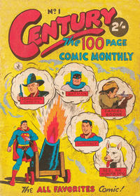 Cover Thumbnail for Century, The 100 Page Comic Monthly (K. G. Murray, 1956 series) #1