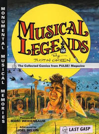 Cover Thumbnail for Musical Legends: The Collected Comics from PULSE! Magazine (Last Gasp, 2004 series)