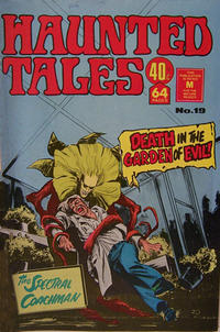 Cover Thumbnail for Haunted Tales (K. G. Murray, 1973 series) #19