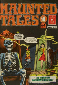 Cover Thumbnail for Haunted Tales (K. G. Murray, 1973 series) #25