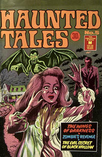 Cover Thumbnail for Haunted Tales (K. G. Murray, 1973 series) #5