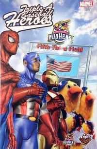Cover Thumbnail for Custom: Triple A Baseball Heroes (Marvel, 2007 series) #2 [Toledo Mud Hens variant]