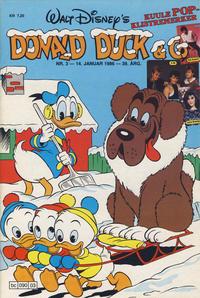 Cover Thumbnail for Donald Duck & Co (Hjemmet / Egmont, 1948 series) #3/1986