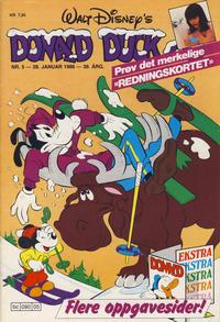 Cover Thumbnail for Donald Duck & Co (Hjemmet / Egmont, 1948 series) #5/1986